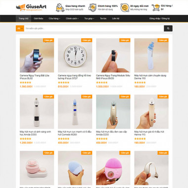 Theme Wordpress Flatsome Shop 03