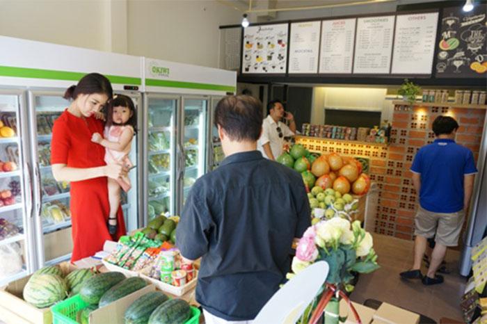 kinh nghiệm mở cửa hàng rau sạch 3