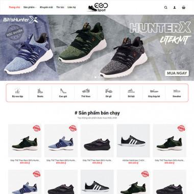 Theme Wordpress bán giày thể thao
