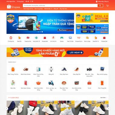 Theme Wordpress bán hàng Shopee