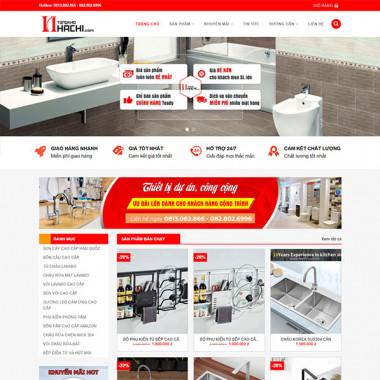 Theme Wordpress bán thiết bị vệ sinh 01
