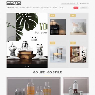 Theme Wordpress Flatsome trang trí