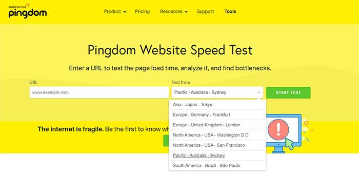 test speed website 7