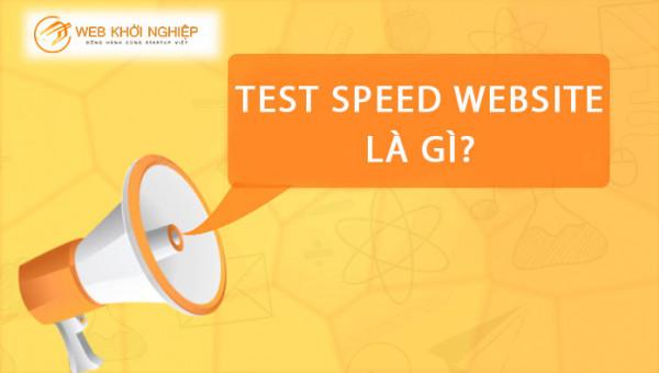 test speed website