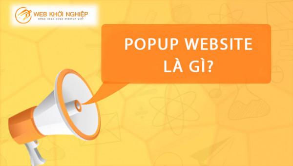 popup website
