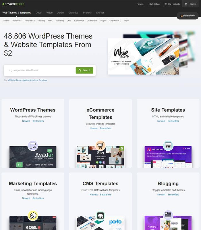 template website 2