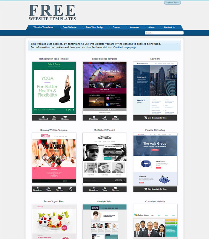 template website 3