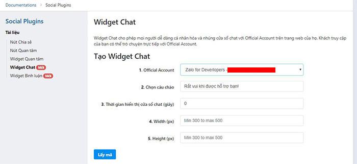 tích hợp chat zalo vào website 5