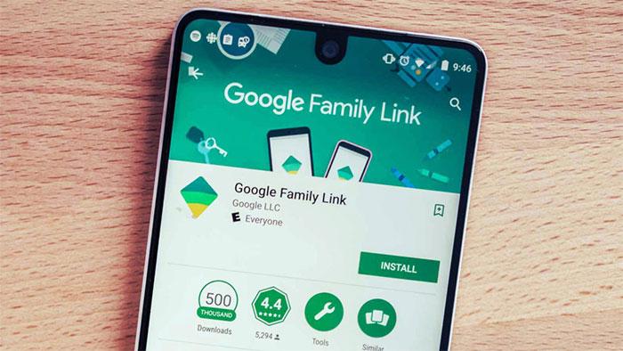 block website với google family link