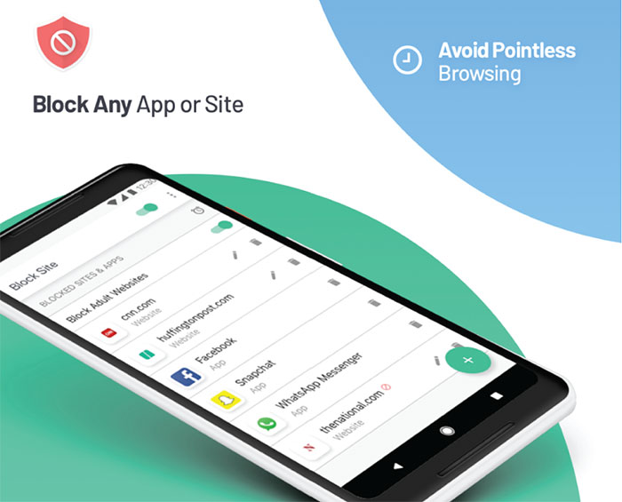 block site trên android