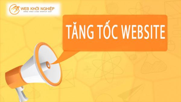 tăng tốc website