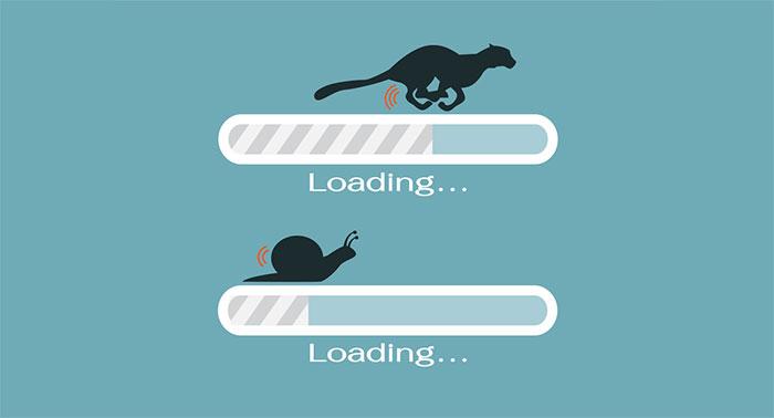 tốc độ load web cũng là một phần trong việc đánh giá web chuẩn SEO