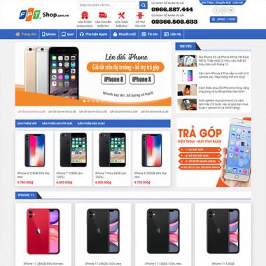 theme wordpress bán iphone