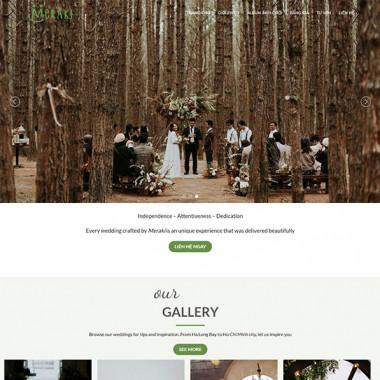 theme wordpress studio ảnh cưới