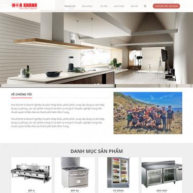Theme Wordpress bán thiết bị bếp