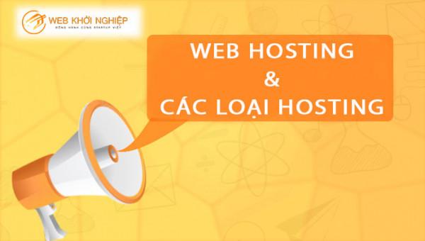 web hosting và các loại hosting