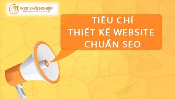 tiêu chí đánh giá thiết kế website chuẩn seo