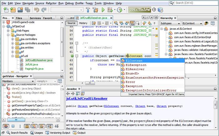 netbeans - phần mềm hỗ trợ lập trình java