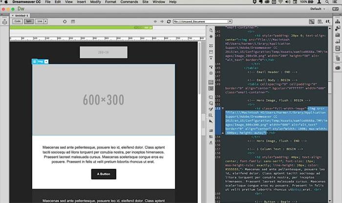 dreamweaver - phần mềm hỗ trợ vẽ layout website
