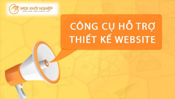 công cụ hỗ trợ thiết kế website