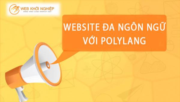 thiết kế website đa ngôn ngữ với polylang