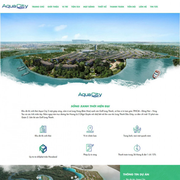 theme wordpress aqua city
