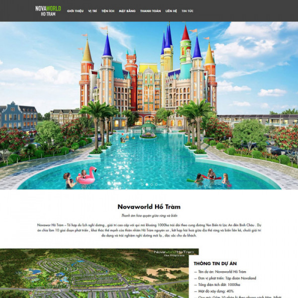 theme wordpress novaland